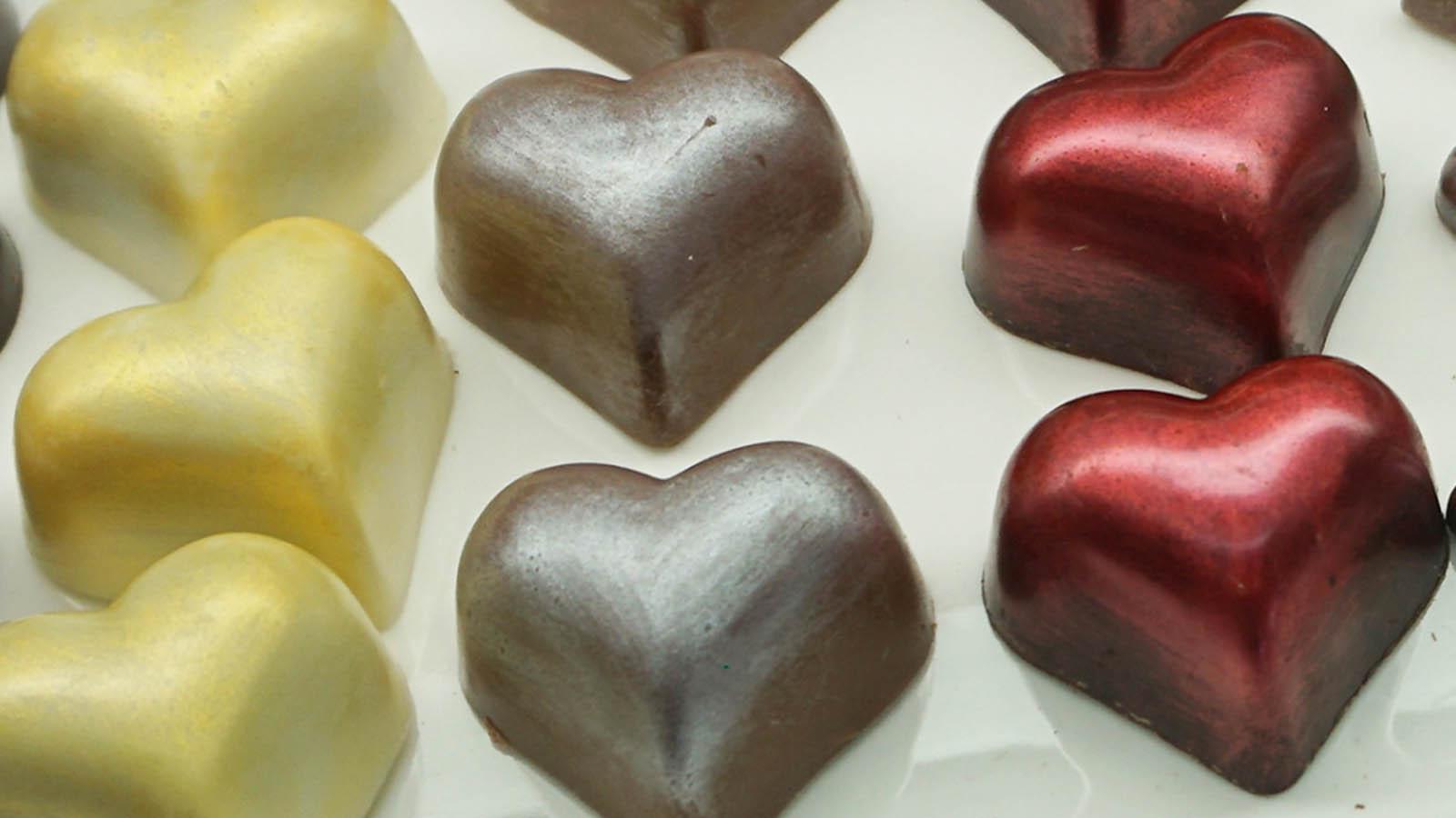 Echuca Chocolate Co Hearts